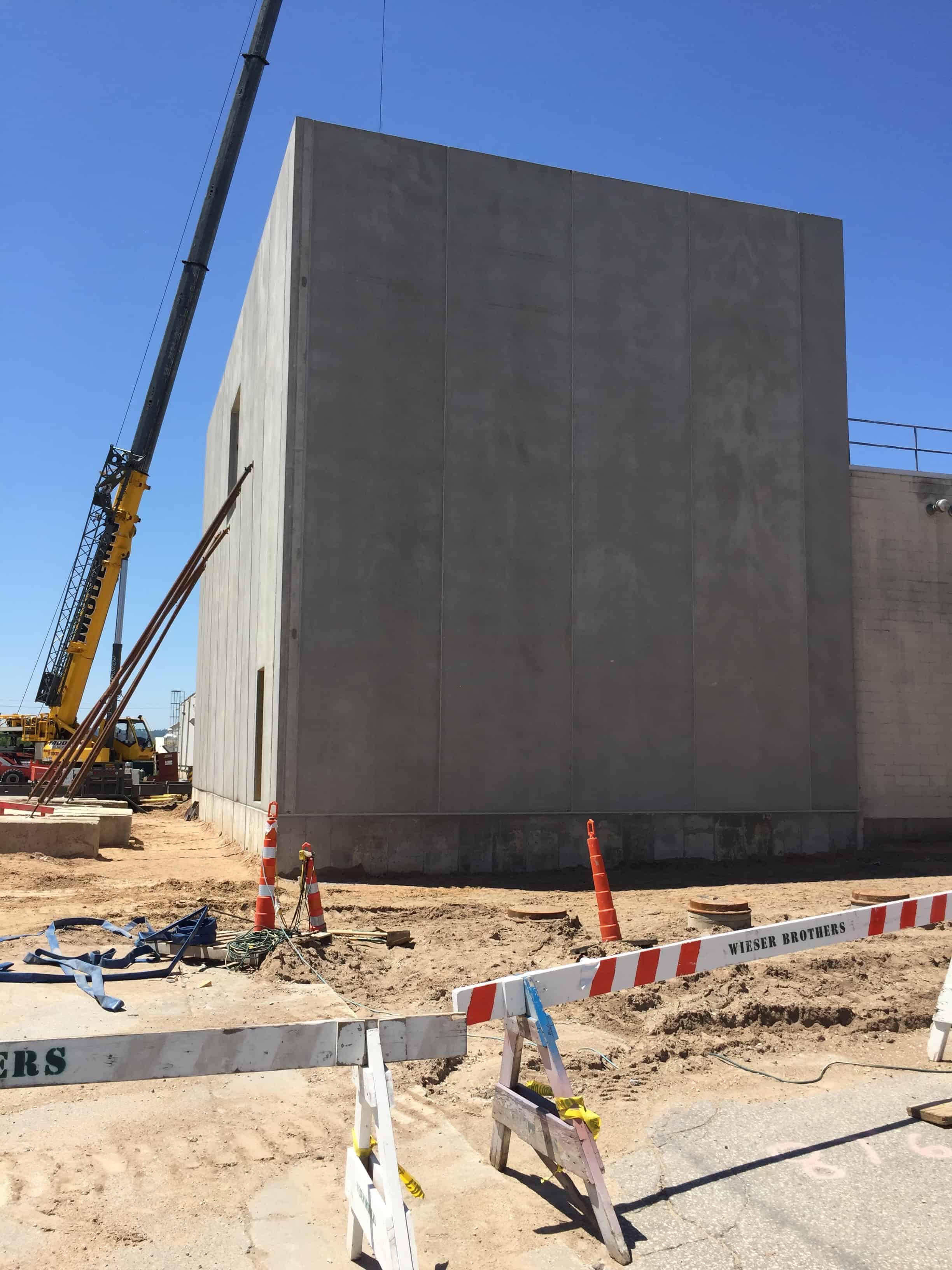 Kwik Trip Bakery Building Panels Wieser Concrete