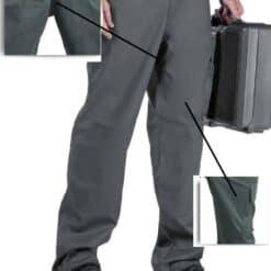 Calças multibolsos r9100 cinza