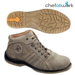 Leather boots EXENA ARES