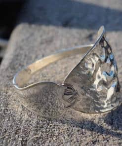 Armband aus Löffel Silber