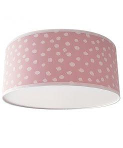 plafondlamp_dots_roze