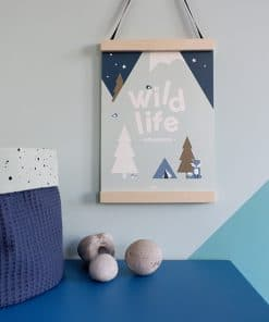 Poster Wild Life old green