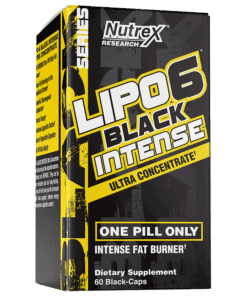 Lipo 6 Black Intense 60 cprs USA
