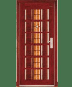 Cửa thép vân gỗ chống cháy Galaxy