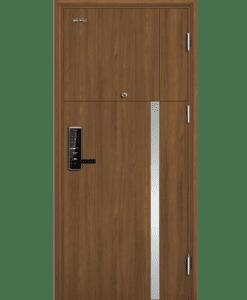 Cửa thép vân gỗ chống cháy Galaxy GLX-STEEL-501-VG12