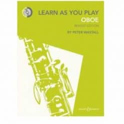 Peter Wastall: Learn As You Play Oboe - Revised Edition