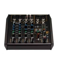 RCF F 6X 6 CHANNEL MIXING CONSOLE WITH MULTI-FX