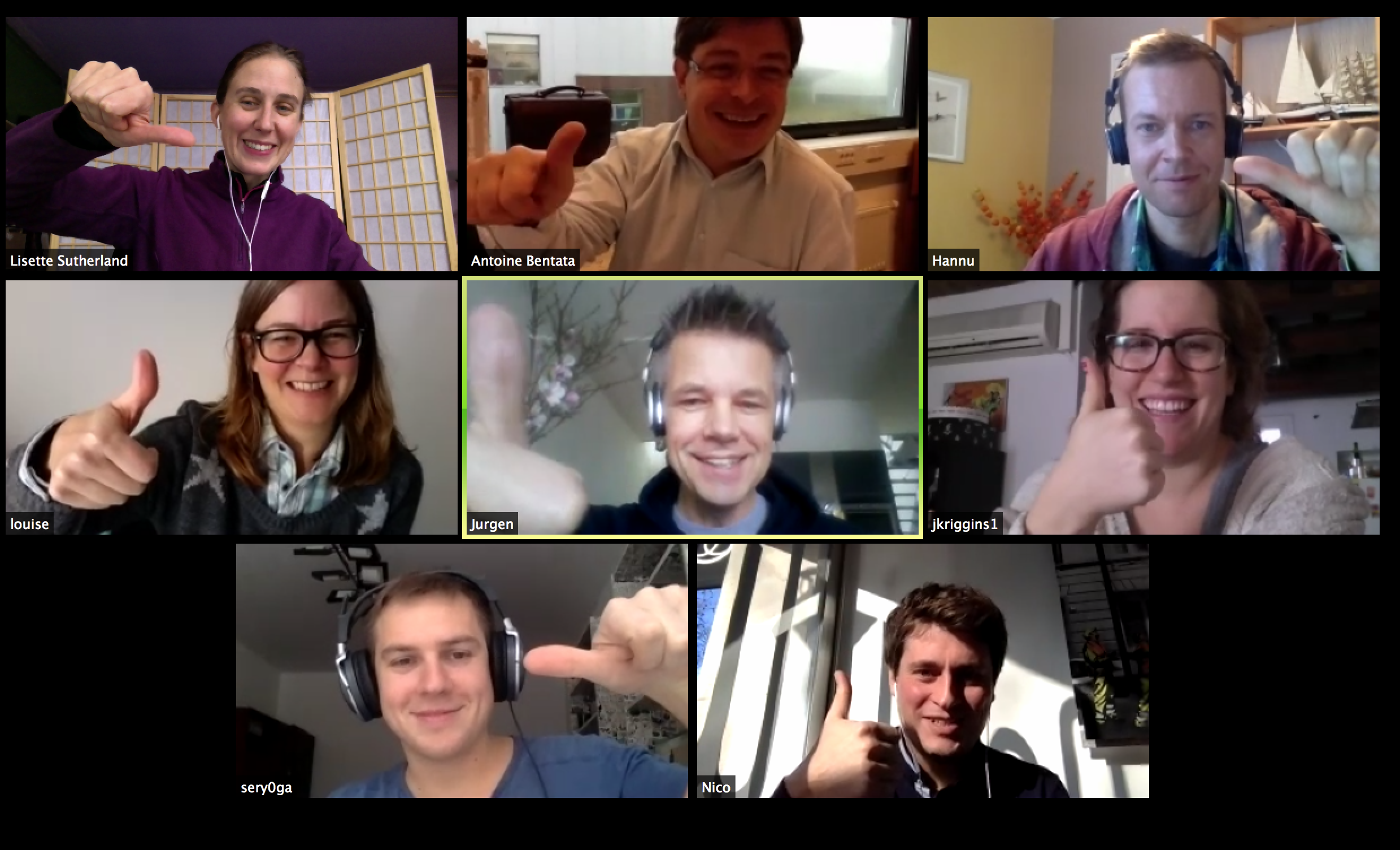 managing remote employees add people on video
