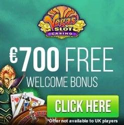 Vegas Slot Casino | £€$ 210 welcome bonus and FREE SPINS!