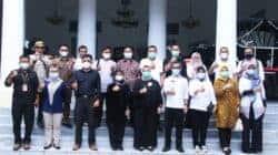 Pemkab Garut Kunjungi Diskominfo Purwakarta Untuk Studi Banding Penanganan Kemitraan dengan Media