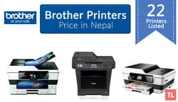 Brother Printers Price List in Nepal | 2017