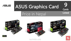 ASUS Graphics Card Price List in Nepal | 2017
