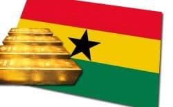 Gold, Ghana