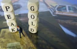 Gold, Peak Gold (Foto: Goldreporter)