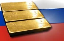 Gold, Goldreserven, Russland, Goldbarren (Foto: Goldreporter)