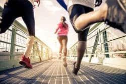 People running in race
