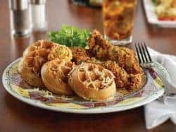 Chicken and waffles in baltimore