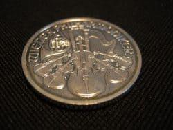 Silbermünze, Flecken, Philharmoniker (Foto: Goldreporter)