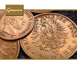 Goldmünzen, historisch (Foto: Goldreporter)