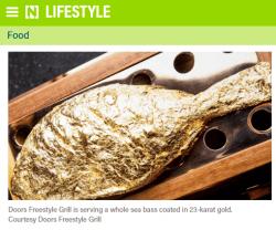 Gold, Fisch