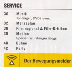 Ausriss Frizz Inhaltsverzeichnis Juni 2006