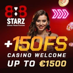 888STARZ Casino banner 250x250 new