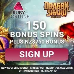 Exclusive Bonus to Ruby Fortune