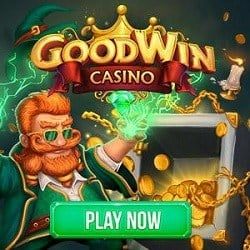 GoodWin Casino 20 free spins on Starburst no deposit required