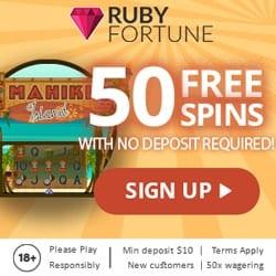 50 Free Spins NDB