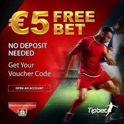 €5 free bet