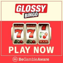 Glossy Bingo Casino 40 gratis free spins & £300 new player bonus