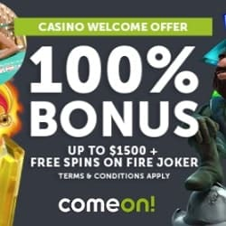 ComeOn Free Spins