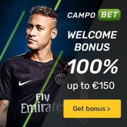 CampoBet (Casino & Sportsbook) 200 gratis spins + €500 free bonus