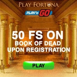 50 FS on Book of Dead (exclusive)