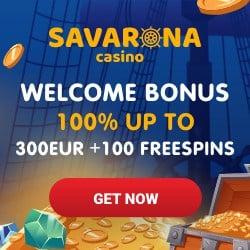 Savarona Casino free bonus logo