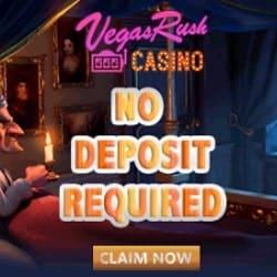 Vegas Rush No Deposit Bonus banner