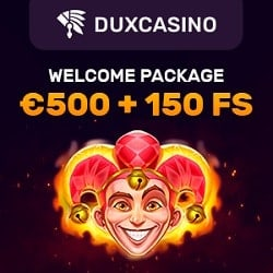 Dux Casino WB banner