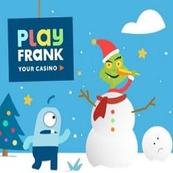 PlayFrank Christmas Bonuses: Pull a Cracker, NetEnt Raffle, Free Spins