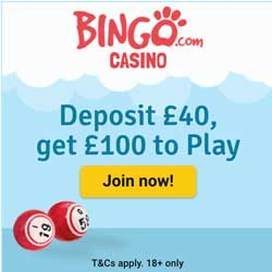 Bingo Casino | 300% welcome bonus and 40 free spins | review