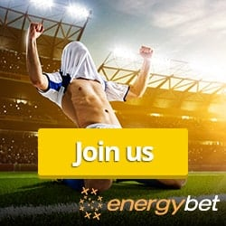 EnergyBet - £5 free bet bonus | Live betting and sportsbook!