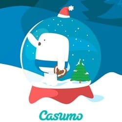 Casumo Christmas Bonus Calendar - Winter Games & Free Spins