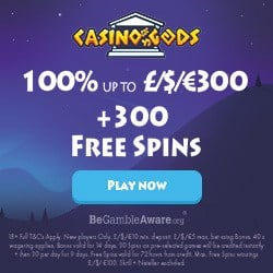 300 free spins and €1,500 welcome bonus!