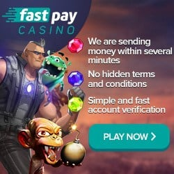 Fastpay 100 free spins and 100% welcome bonus