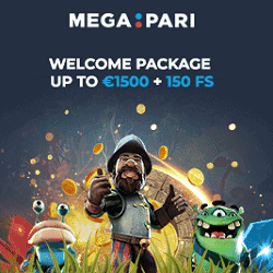 150 free spins and €1500 welcome bonus pack