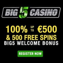 Click here for 500 free spins bonus!