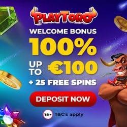 Welcome Bonus: 100% + 100 Free Spins