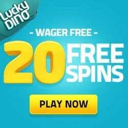 Exclusive Bonus: 20 free spins on registration