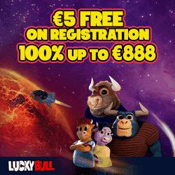 LuckyBull.com 5 eur free bonus