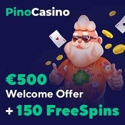 Pino Casino banner 250x250