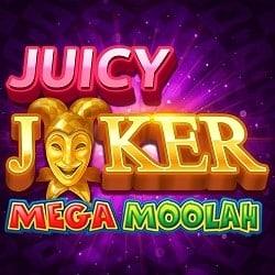 Juicy Joker Mega Moolah banner 250x250